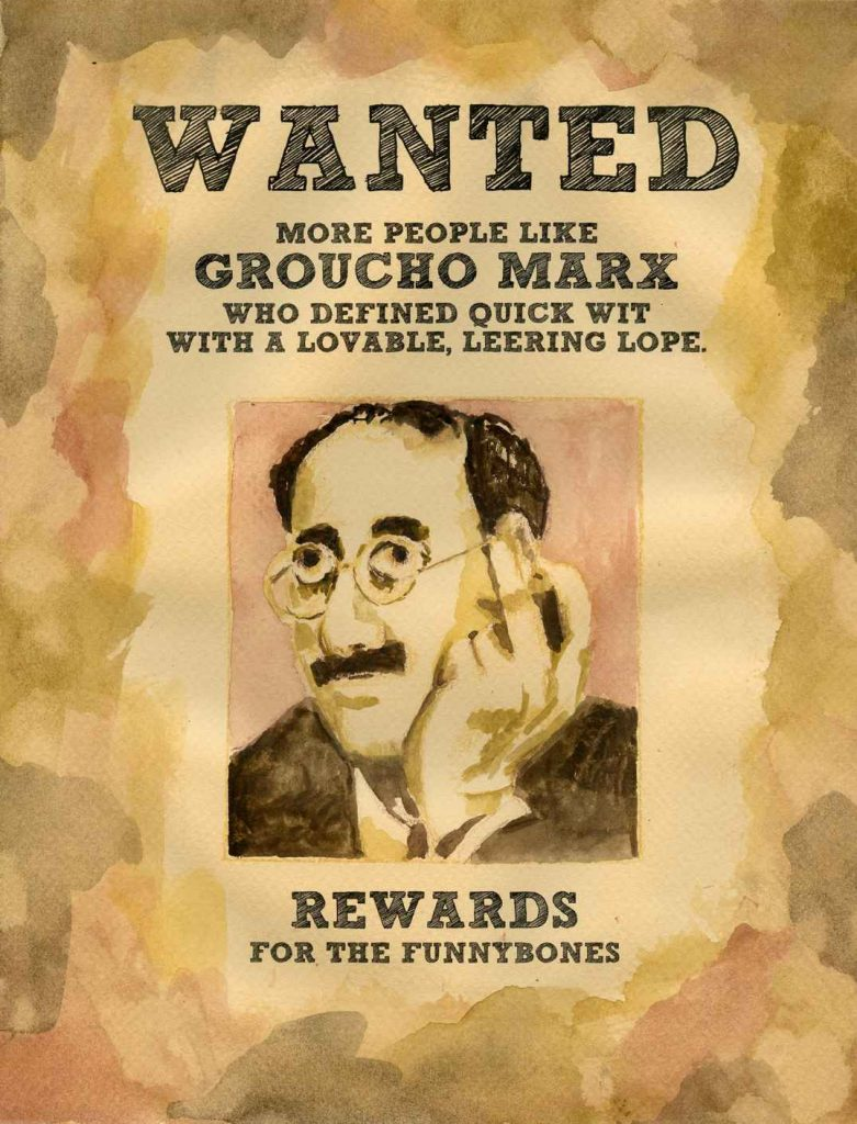 John Nieman - Wanted Groucho Marx